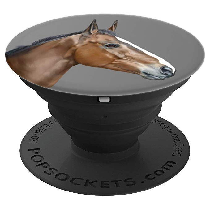 Horse, Thoroughbred PopSocket - PopSockets Grip and Stand for Phones and Tablets