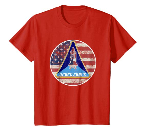 US Space Force T-Shirt, USSF Shirt.