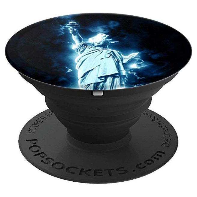 Statue Of Liberty, US, Lady Liberty, New York, USA, America Pop Socket - PopSockets Grip and Stand for Phones and Tablets
